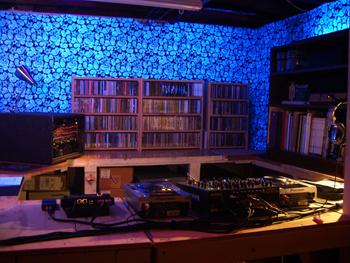 Dj dream microsite for Dream house studios